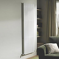Ximax Quadro Vertical Designer radiator White (H)1800 mm (W)590 mm