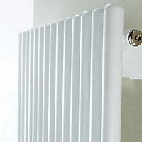 Ximax Supra Horizontal Designer radiator White (H)600 mm (W)870 mm