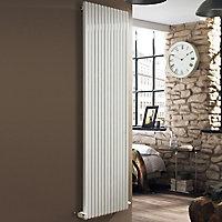 Ximax Supra Square Horizontal Designer radiator White (H)600 mm (W)1190 mm