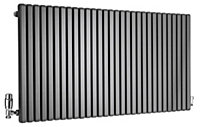 Ximax Supra Square Horizontal Radiator Anthracite (H)600 mm (W)1190 mm