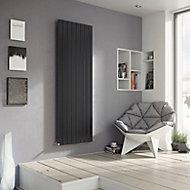 Ximax Vertirad Vertical/horizontal Designer radiator Anthracite (H)1800 mm (W)295 mm