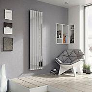 Ximax Vertirad Vertical/horizontal Designer radiator Chrome Polished (H)1800 mm (W)270 mm