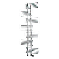 Ximax Parallel-Rail 694W Electric Towel warmer (H)1762mm (W)650mm