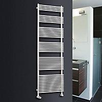 Ximax Calido 736W Electric White Towel warmer (H)1160mm (W)600mm