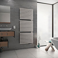 Ximax Fortuna Open 788W Electric White Towel warmer (H)1164mm (W)600mm