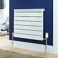 Ximax Viola Designer radiator White (H)500 mm (W)500 mm