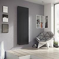 Ximax Vertirad Vertical/horizontal Designer radiator Anthracite (H)1500 mm (W)445 mm