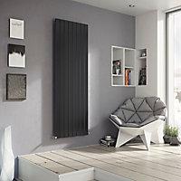 Ximax Vertirad Vertical/horizontal Designer radiator Anthracite (H)1500 mm (W)595 mm