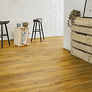 Nailsea Walnut effect Laminate flooring, 1.49m² Pack
