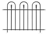 Panacea Triple Arch Traditional Railings, (L)1.22m (H)0.91m (T)20mm
