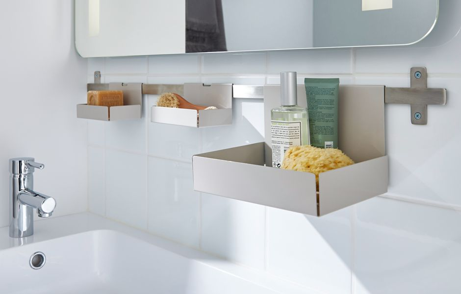 thumbnail: GoodHome Amantea bathroom accessories range