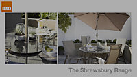 Shrewsbury Metal Gravity chair