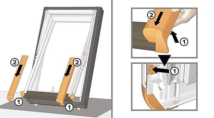 remove the bottom aluminium covers