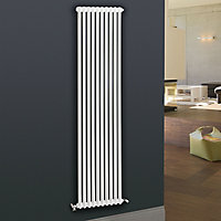 Acova 2 Column Radiator, White (W)306mm (H)2000mm