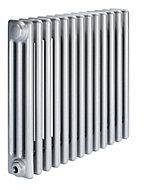Acova 3 Column Radiator, Silver (W)628mm (H)600mm