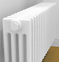 Acova 4 Column Radiator, White (W)1502mm (H)300mm