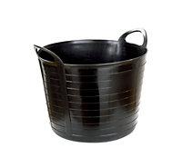 Active Black Plastic Tub