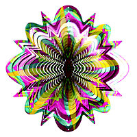Active Cosmic Wind spinner