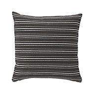 Agra Stripes Grey Cushion (L)40cm x (W)40cm
