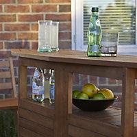 Aland Wooden Bar