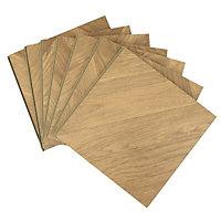 Alessano Natural Herringbone oak effect Laminate Laminate flooring