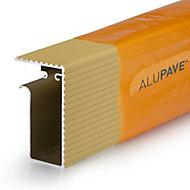 Alupave Sand Flat roof & decking Side trim (L)6m