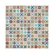 Amaranta Multicolour Stone effect Natural stone Mosaic tile sheet, (L)300mm (W)300mm