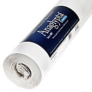 Anaglypta Luxury Precision White Bark Blown Wallpaper