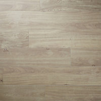 Antic rustic Natural Matt Wood effect Porcelain Wall & floor Tile, Pack of 4, (L)1200mm (W)200mm