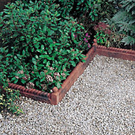 Antique red Paving edging (H)50mm (W)600mm
