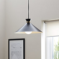 Apennin Matt Black Pendant ceiling light