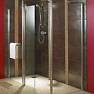 Aquadry Shower End panel (H)1850mm (W)900mm