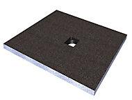 Aquadry Square Shower tray kit (L)1200mm (W)1200mm (D)45mm