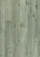 Aquanto Dark Grey Oak effect Laminate Flooring Sample