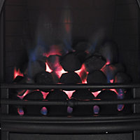 Arch Black Gas Fire