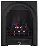 Arch Black Manual control Gas Fire FPFBQ111