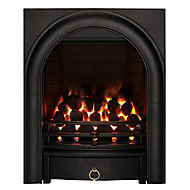 Arch Black Remote controlled Gas Fire FPFBQ344