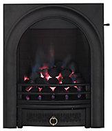 Arch Black Slide control Gas Fire FPFBQ112