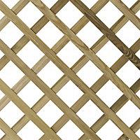 Arched Trellis panel (W)1.8m (H)1.8m