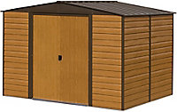 Arrow Woodvale 12x10 Apex Metal Shed - Assembly service included