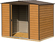 Arrow Woodvale 8x6 Apex Metal Shed