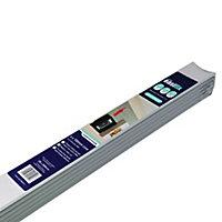 Artex Easifix Classic C-shaped Plaster Coving (L)2m (W)100mm, Pack of 6