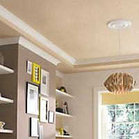 Artex Easifix Classic C-shaped Plaster Coving (L)2m (W)127mm, Pack of 6