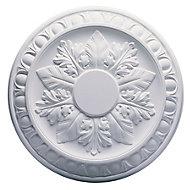 Artex Richmond Traditional Plaster Ceiling rose, (Dia)360mm