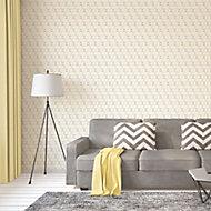 As Creation Bjorn Yellow Geometric Textured Wallpaper