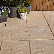 Ashbourne Antique cotswold Paving set 9.72m², Pack of 48
