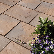 Ashbourne York brown Paving set 9.72m², Pack of 48