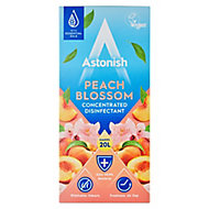 Astonish Concentrated Peach blossom Anti-bacterial Multi-surface Disinfectant & cleaner, 500ml 520g