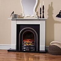 Aurora Dorchester Black Electric fire suite