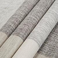 Auteur Beige Check Lined Pencil pleat Curtains (W)117cm (L)137cm, Pair